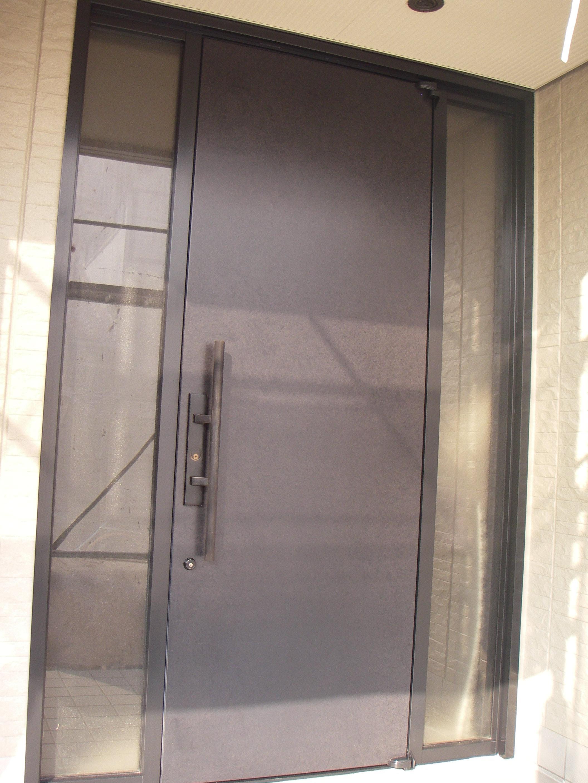 アルミ製ドア1施工後
