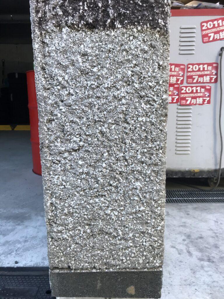 コンクリートリボーン工法施工後